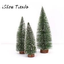 Mini Christmas Tree Stick White Cedar Desktop Small Tree20 Holiday Ornaments Window Decorations From Shuishu