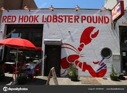 Brooklyn New York May 2018 Famous Red Hook Lobster Pound – Stock ... Red Hook Lobster Pound Montauk Gourmadela From Maine To Nyc The Story Of Pounds Rolls Eater Stuff I Ate Food Truck Friday Catering 208 Photos 440 Reviews Seafood Tasty Eating Dc Eat At A Restaurant In American Delishus