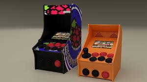 raspberry pi 3d printed nano arcade cabinet combines nostalgia