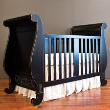 Bratt Decor Joy Crib Conversion Kit by Chelsea Sleigh Crib Distressed Black Maybe Pinterest Chelsea