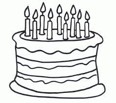 Thanksgiving clipart birthday cake 2