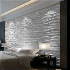 Acrylic Wall Art Modern Waves 3d Panel Textured Glue On Tiles