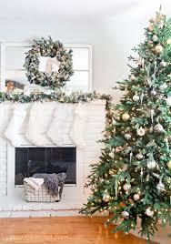 Shabby Chic White Christmas Decor 4 Rustic Glam Tree
