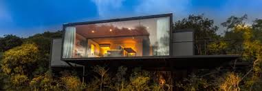 100 House Shipping Containers A Shipping Container Is Recycled Into A Chic Nature Retreat