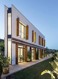 100 Unique House Architecture Geometrically Home Combines Modern And