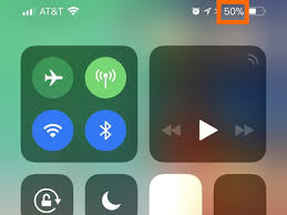 How to Display Battery Percentage on iPhone X