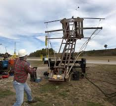 Pumpkin Chunkin Trebuchet by New Hampshire Speedway Serves As Launching Pad For Pumpkins