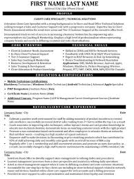 Top Customer Service Resume Templates Samples