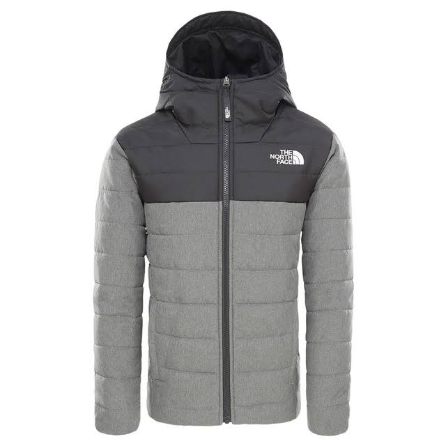 The North Face Boys Reversible Perrito Jacket TNF Medium Grey
