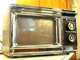 Microwave Walmart Oven Red