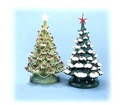 Ceramic Tree Lights And Lovely Light Bulbs Ornaments Plastic Elegant