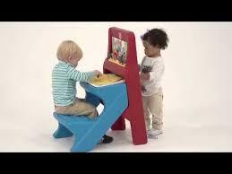 Step2 Art Easel Desk Toys by Step2 Art Easel Desk Youtube