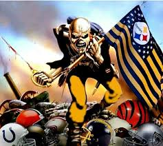 Original Iron Curtain Steelers by Yes Two Of My Favorite Things Steelers And Iron Maiden
