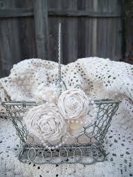Shabby Chic Wedding Decor Pinterest by Shabby Chic Flower Basket Vintage Wedding Steampunk Wedding