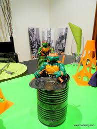 Ninja Turtle Decorations Ideas by Crust Dinner Party Cowabunga Ninja Turtles Foodie Ling