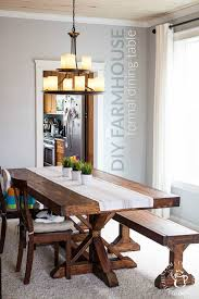 We Decided To Try This DIY Farmhouse Formal Dining Table Project Despite Having No Experience