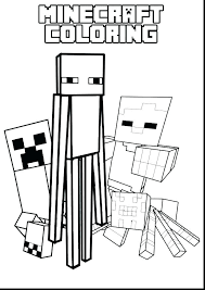 Minecraft Printable Coloring Pages Q9480 Creeper Page For Awesome Mutant