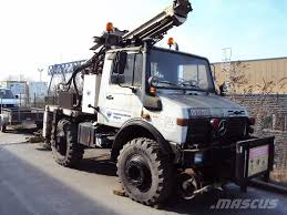 100 Digger Truck Videos Used MercedesBenz Unimog U1600 Digger Derrick Trucks Year 1997 For