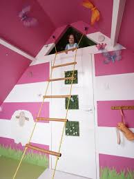 Loft Bed With Slide Ikea by Stylish Kids U0027 Bunk Beds Ladder Wooden Ladder And Space Photos