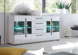 cantara sideboard kommode 150cm weiß hochglanz wohnzimmer modern