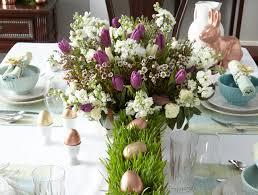Easy But Elegant Tabletop Decor For Easter