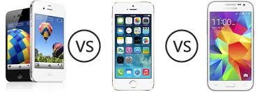 Apple iPhone 4S vs Apple iPhone 5S vs Samsung Galaxy Core Prime