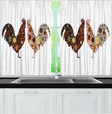 country curtain kitchen window amazon com