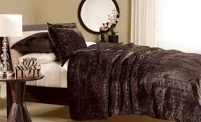 Faux Fur Bedding forter Set Ideas — Fres Hoom