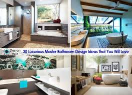 30 luxurious master bathroom design ideas that you will