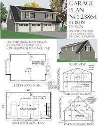 30 X 30 With Loft Floor Plans by Over Sized Two Car Garage With Loft Plans 1502 1 30 U0027 X 30 U0027 By Behm