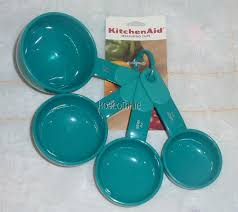 Savannah Turquoise Kitchen Canister Set by Kitchenaid Aqua Turquoise Blue Kitchen Utensils Kitchen Utensils