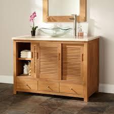 Distressed Bathroom Vanity Ideas by Bathroom 2017 Best Distressed Wood Bathroom Cabinet Striped