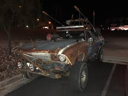 Found This Mad Max Truck The Other Day In Las Vegas. It Was ... Night Wolves Mad Max Truck Wows Lugansk Residents Sputnik How Sound Editors Made Engine Noises Out Of Whale Wails Our Top10 Favorite Stapocalyptic Death Machines From The Cars Fury Road Mercedesbenz Is There Mercedesblog Cars Identified Autotraderca Davetaylorminiatures Monster Trucks Final Batch Painted R Model Antique And Classic Mack General Discussion Tfltrucks Top 5 Movie Or Tv Warrior 2 Truck Pulling An Amazon Trailer Awesomecarmods Buzzard Album On Imgur If Had A Gmc This Would Be It