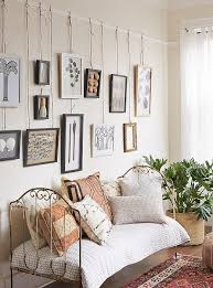 hanging on a picture rail