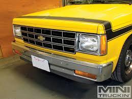100 Lmc Truck S10 Chevy Grille Swap LMC GMC Mini In Magazine