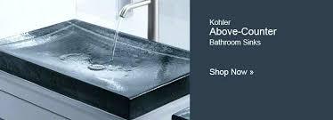 Kohler Bathroom Sink Faucets Single Hole by Kohler Bathroom Sinks Home Depot Lowes Sink Faucets Single Hole