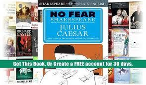 Download Julius Caesar No Fear Shakespeare William Trial Ebook