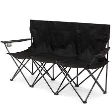 Best Choice Products 3-Person Portable Folding Camping Chair W/Built-in Cup  Holders, Carrying Bag - Black Top 25 Quotes On The Best Camping Chairs 2019 Tech Shake Best Bean Bag Chairs Ldon Evening Standard Comfortable For Camping Amazoncom 10 Medium Bean Bag Chairs Reviews Choice Products Foldable Lweight Camping Sports Chair W Large Pocket Carrying Sears Canada Lovely Images Of The Gear You Can Buy Less Than 50 Pool Rave 58 Bpack Cooler Combo W Chair 8 In And Comparison