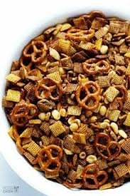 Pumpkin Spice Chex Mix With Candy Corn by 5 Minute Pumpkin Spice Chex Mix Resepti