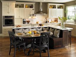 Kitchen Island With Built In Bench