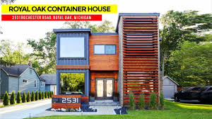 100 Custom Shipping Container Homes Royal Oak 430K House 2531 Rochester Road Royal Oak Michigan