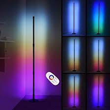 ankishi led stehle dimmbar mit fernbedienung 2800lm stehleuchte für wohnzimmer schlafzimmer farbwechsel lichtsaeule rgb farbtemperaturen eckle