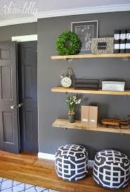 Living Room Shelves Ideas
