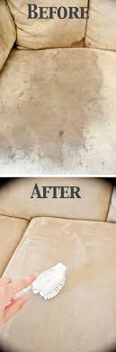 How To Clean A Microfiber Couch with ONE Ingre nt