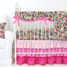 Arrow Crib Bedding by Pink Baby Bedding Rosenberry Rooms