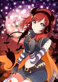 Live Halloween Wallpaper For Ipad by Even More Halloween Maki Love Live Awwnime