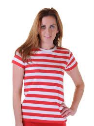 womens kids mens blue red u0026 white striped t shirt ladies vest book