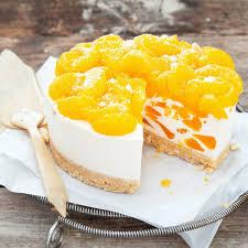 himmlisch cremige frischkäse mandarinen torte mit schuss