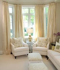 Gold And White Window Curtains by Living Rooms Silver Lamp Chair Set Soft Butter Yellow Silk