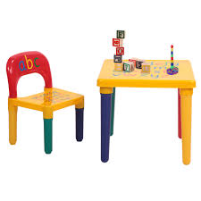 Details About Kids Plastic Table And 1 Chair Set Vibrant Colors Letters  Education Learning Kids Study Table Chairs Details About Kids Table Chair Set Multi Color Toddler Activity Plastic Boys Girls Square Play Goplus 5 Piece Pine Wood Children Room Fniture Natural New Hw55008na Schon Childrens And Enchanting The Whisper Nick Jr Dora The Explorer Storage And Advantages Of Purchasing Wooden Tables Chairs For Buy Latest Sets At Best Price Online In Asunflower With Adjustable Legs As Ding Simple Her Tool Belt Solid Study Desk Chalkboard Game
